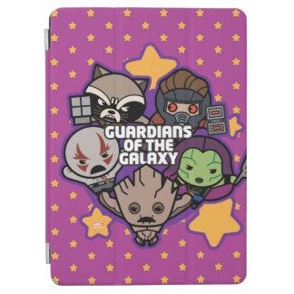 Kawaii Guardians of the Galaxy Star Graphic iPad Air Cover