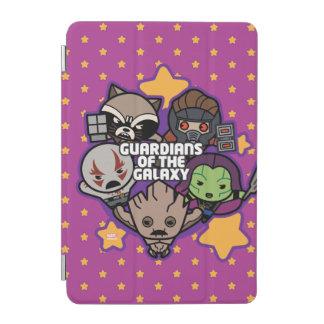 Kawaii Guardians of the Galaxy Star Graphic iPad Mini Cover