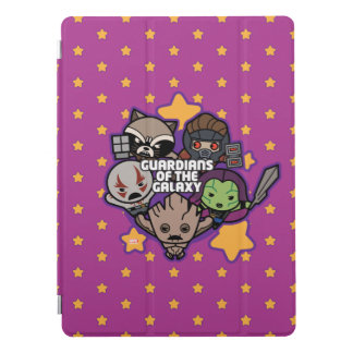 Kawaii Guardians of the Galaxy Star Graphic iPad Pro Cover