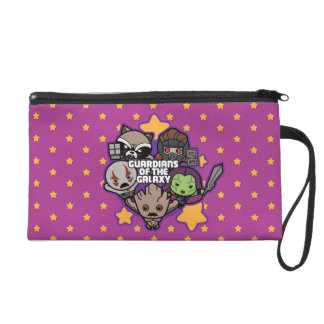 Kawaii Guardians of the Galaxy Star Graphic Wristlet
