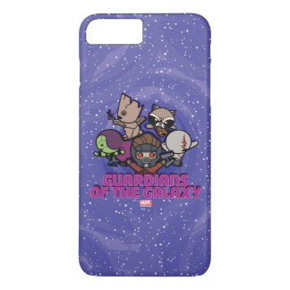 Kawaii Guardians of the Galaxy Swirl Graphic Case-Mate iPhone Case