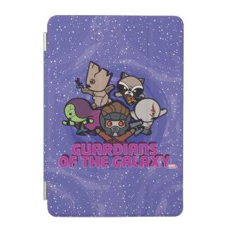Kawaii Guardians of the Galaxy Swirl Graphic iPad Mini Cover