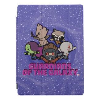 Kawaii Guardians of the Galaxy Swirl Graphic iPad Pro Cover