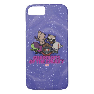 Kawaii Guardians of the Galaxy Swirl Graphic iPhone 8/7 Case