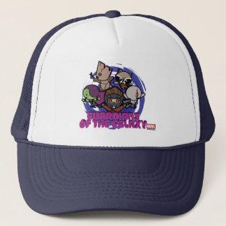 Kawaii Guardians of the Galaxy Swirl Graphic Trucker Hat