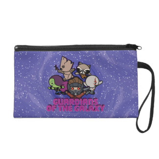 Kawaii Guardians of the Galaxy Swirl Graphic Wristlet