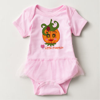 Kawaii Halloween Pumpkin-chan Baby Bodysuit