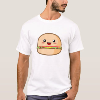 Kawaii Hamburger T-Shirt