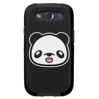 Kawaii Happy Panda Head Galaxy SIII Covers