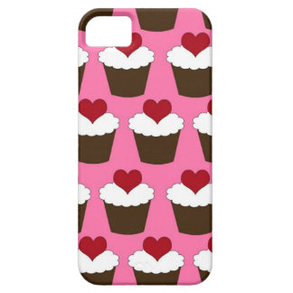 Kawaii heart cute girly cupcake hearts pattern iPhone 5 case