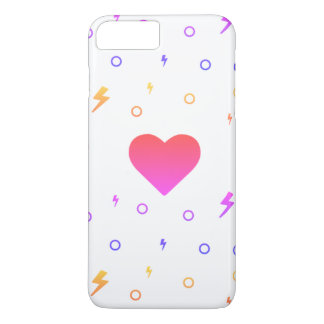 Kawaii Heart Pattern Phone Case