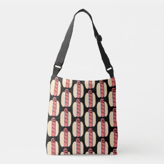 Kawaii Hot Dog TP Crossbody Bag