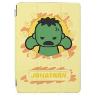 Kawaii Hulk With Marvel Hero Icons iPad Air Cover
