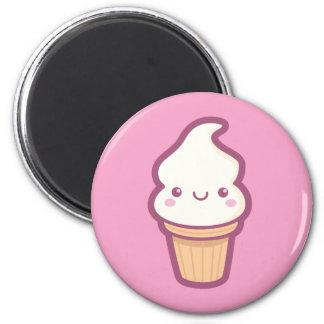 Kawaii Ice Cream Cone Magnet