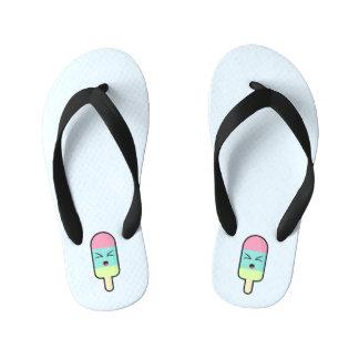 Kawaii Ice cream Kid's Flip Flops