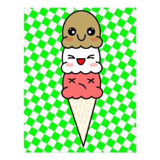 Kawaii Ice Cream Letterhead