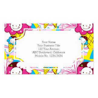 Kawaii Ice Cream Uber Cute Pack Of Standard Business Cards