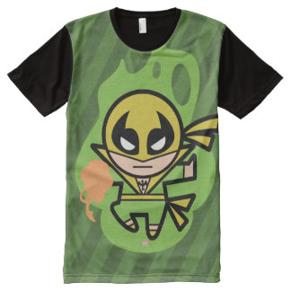 Kawaii Iron Fist Chi Manipulation All-Over-Print T-Shirt