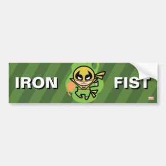 Kawaii Iron Fist Chi Manipulation Bumper Sticker