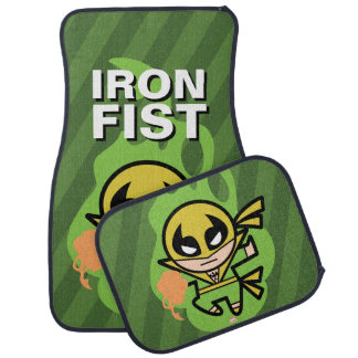 Kawaii Iron Fist Chi Manipulation Car Mat