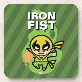 Kawaii Iron Fist Chi Manipulation Coaster