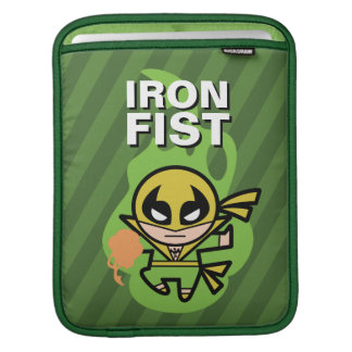 Kawaii Iron Fist Chi Manipulation iPad Sleeve