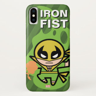 Kawaii Iron Fist Chi Manipulation iPhone X Case