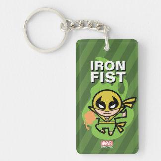 Kawaii Iron Fist Chi Manipulation Keychain