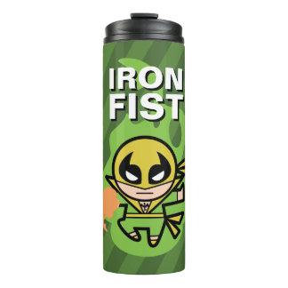 Kawaii Iron Fist Chi Manipulation Thermal Tumbler