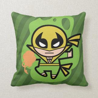 Kawaii Iron Fist Chi Manipulation Throw Pillow