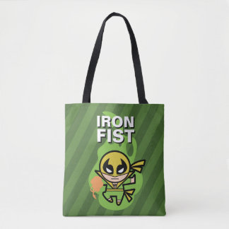 Kawaii Iron Fist Chi Manipulation Tote Bag