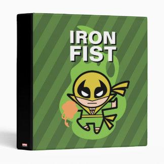 Kawaii Iron Fist Chi Manipulation Vinyl Binders