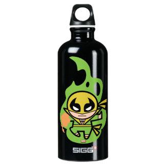 Kawaii Iron Fist Chi Manipulation Water Bottle