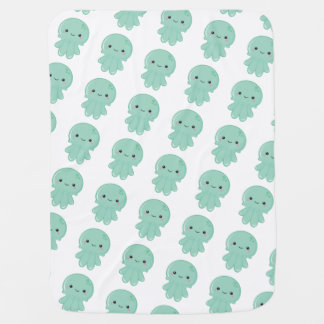 Kawaii Jellyfish Baby Blankets