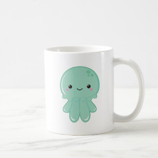 Kawaii Jellyfish Coffee Mug