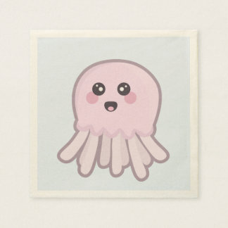 Kawaii Jellyfish Disposable Napkin