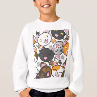 Kawaii Kitties Kid's Shirt/Sweatshirt Sweatshirt