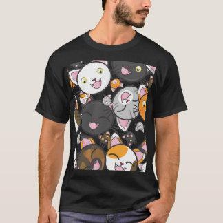 Kawaii Kitty - Casual Men's T-Shirt (Dark)