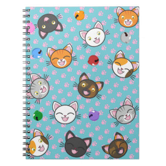 Kawaii Kitty Paws - Notebook