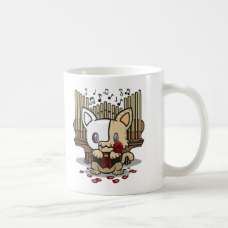 Kawaii Kitty Phantom of the Opera Coffee Mugs