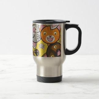 Kawaii Kitty Travel Mug