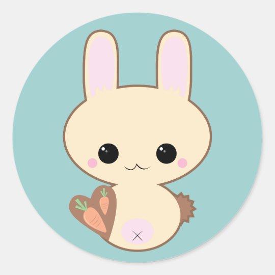 Kawaii Kokeshi Bunny Sticker