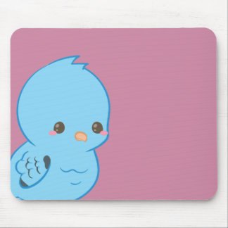 Kawaii Lineolated Parakeet Mouse Pad