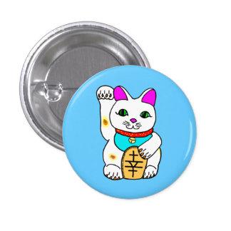 kawaii luckycat 1 inch round button
