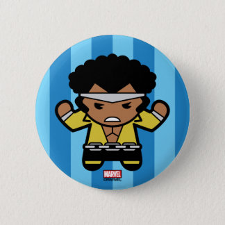 Kawaii Luke Cage Flexing 2 Inch Round Button