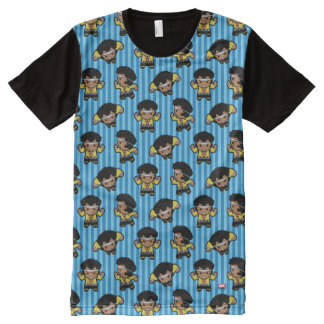 Kawaii Luke Cage Flexing All-Over-Print T-Shirt