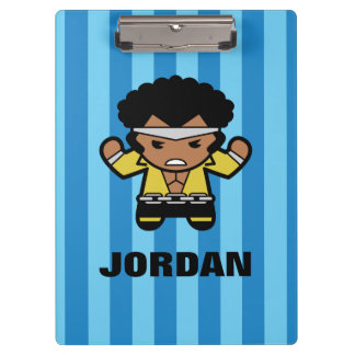 Kawaii Luke Cage Flexing Clipboard
