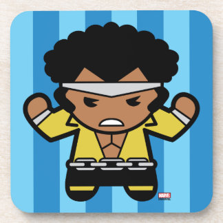 Kawaii Luke Cage Flexing Coaster