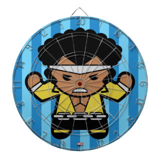 Kawaii Luke Cage Flexing Dartboard