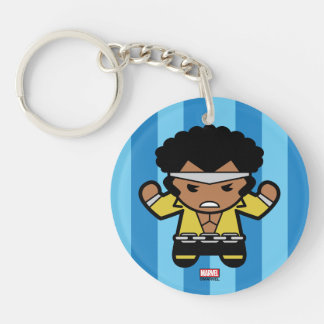 Kawaii Luke Cage Flexing Keychain